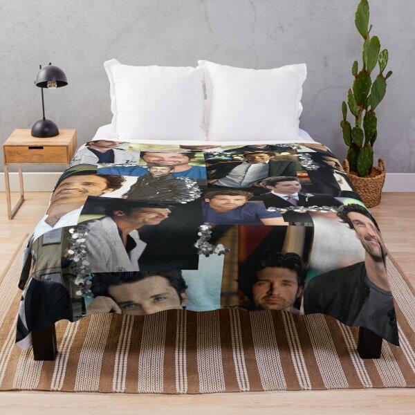 Derek Shepherd Collage Throw Blanket