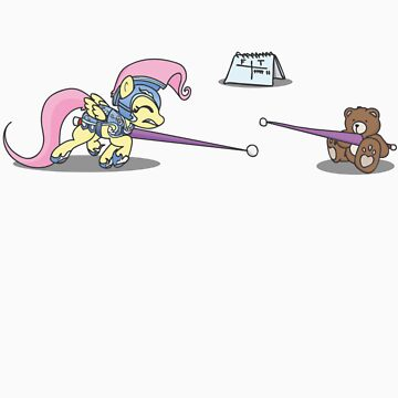 Training (with teddy)  by FinalFlutter