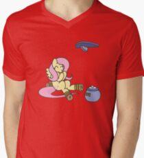 Stilts Mens V-Neck T-Shirt