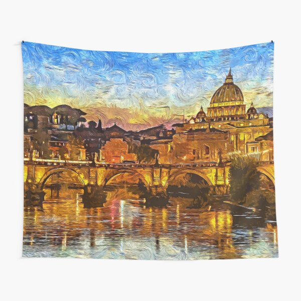 Rome and the Vatican City Tapestry