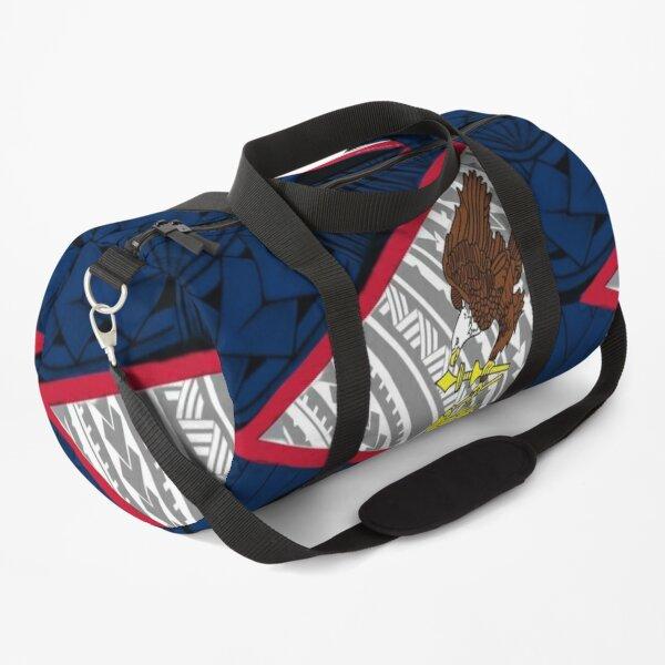American Samoa Tribal Flag  Duffle Bag