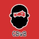 Beardy Boy Logo - Red by gbwb