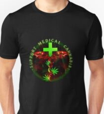 Support Medical Cannabis  Unisex T-Shirt