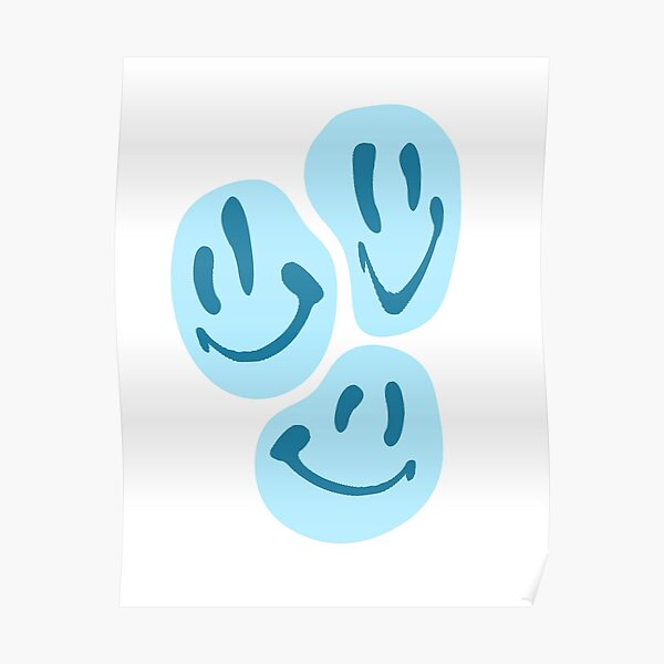 BLUE SMILES  Poster