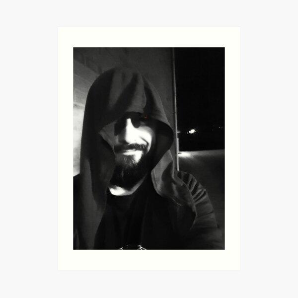 Hooded Stranger Art Print