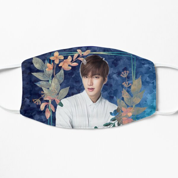 [Lee Min Ho + Blue Flowers] Mask