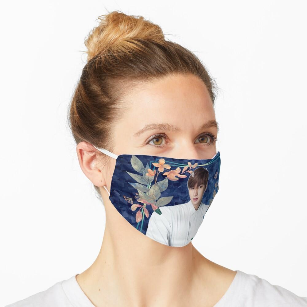 [Lee Min Ho + Blue Flowers] Mask