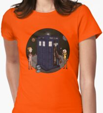 T.A.R.D.I.S Womens Fitted T-Shirt