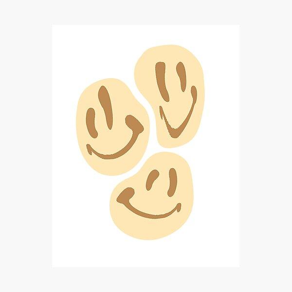 BROWN SMILES Photographic Print
