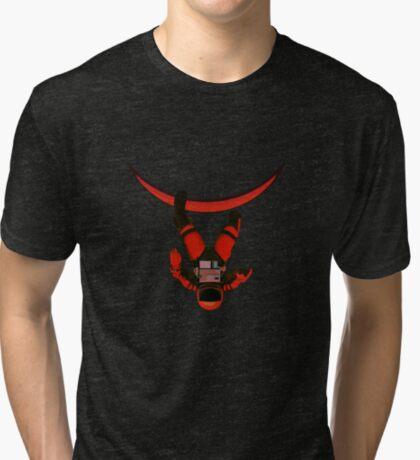 Space Walk Tri-blend T-Shirt