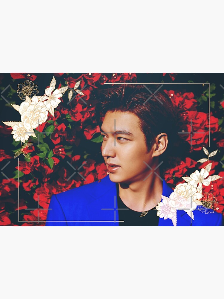 [Lee Min Ho] [Red + Floral] by humanlydesigned