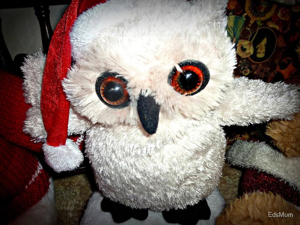 Snow Owl Santa Toy - 25/12/2012 by EdsMum