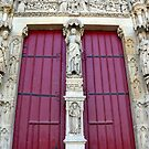 Cathedral Carvings: Amiens, France by linfranca