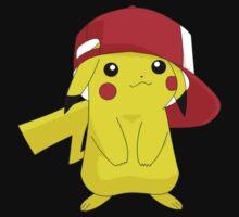 Pikachu Pokemon Ash's Hat | Unisex T-Shirt