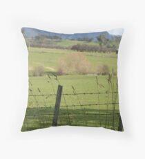 Mt Roland- Sheffield Tasmania Throw Pillow