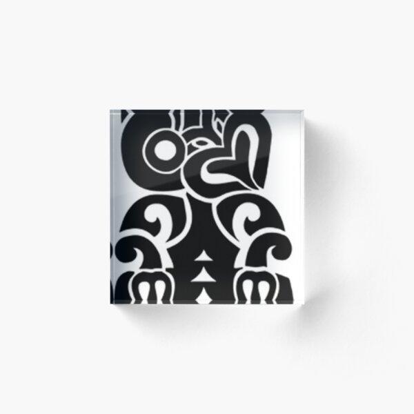 NZ Tiki Acrylic Block