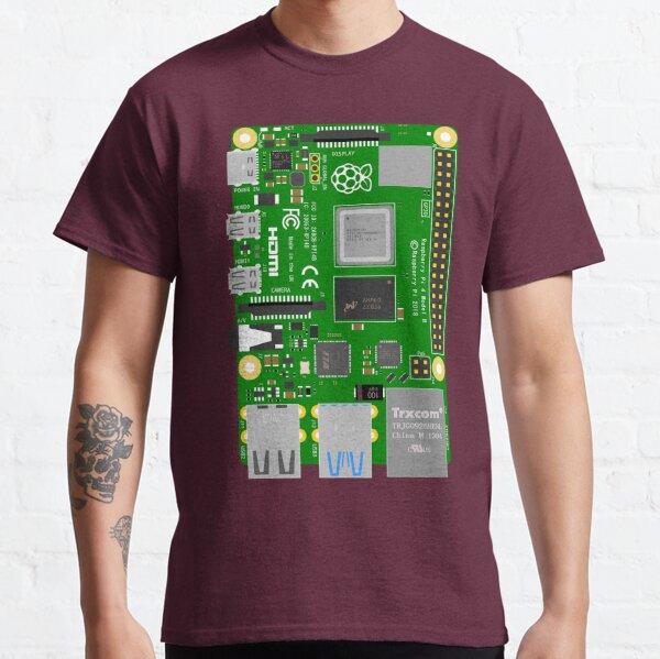 Raspberry Pi 4 B Classic T-Shirt