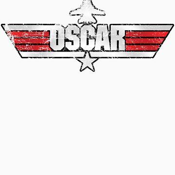 Custom Top Gun Style - Oscar by CallsignShirts
