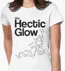 The Hectic Glow - John Green T-Shirt [B&W] Womens Fitted T-Shirt