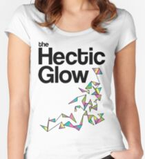 The Hectic Glow - John Green T-Shirt [Colour] Women's Fitted Scoop T-Shirt