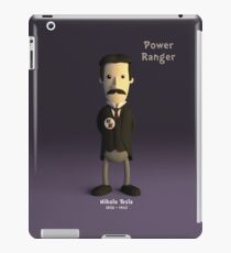 Nikola Tesla - Power Ranger iPad Case/Skin