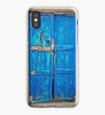 Rustic door iPhone Case/Skin