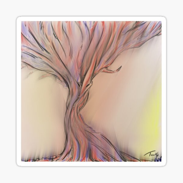 Dryad Sticker