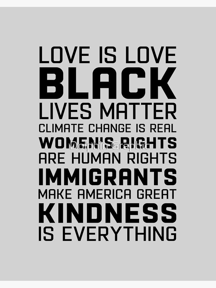 Liberal Tank Top Democrat Black Lives Matter Women's Rights Human ...