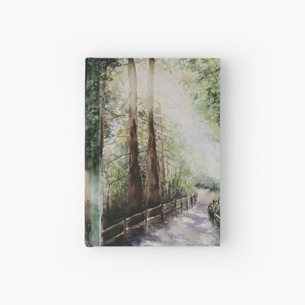 Sunlight in the forest Hardcover Journal