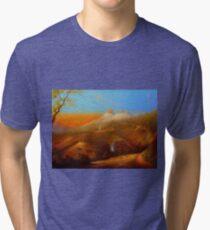 Mi Pueblo Blanco Olvera Tri-blend T-Shirt