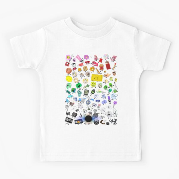BFB and TPOT Full Cast print Kids T-Shirt