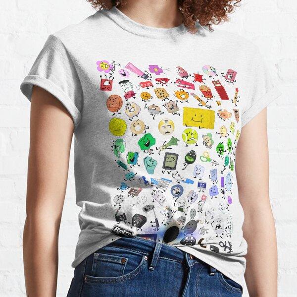 BFB and TPOT Full Cast print Classic T-Shirt