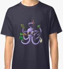 Octopus juggling vegetables from Valxart.com  Classic T-Shirt