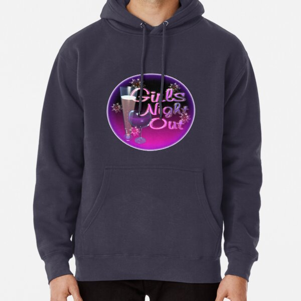Girls Night Out by Valxart.com Pullover Hoodie