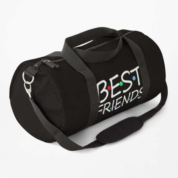 funny best friends gift top best friends shirt  Duffle Bag