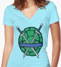 The Leader Edition (Alternate) Women's Fitted V-Neck T-Shirt