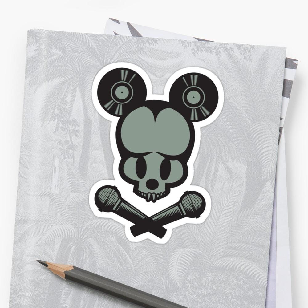 Mickey Skull by ullilange
