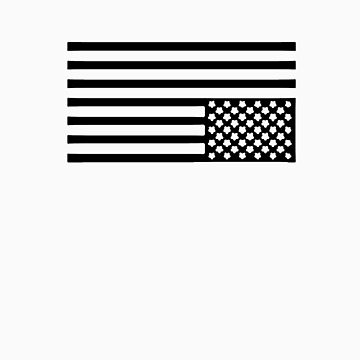 Tired America Flag by Viinceent