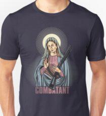 Mary Combatant Unisex T-Shirt