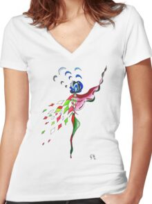 Last days of indulgence Women's Fitted V-Neck T-Shirt