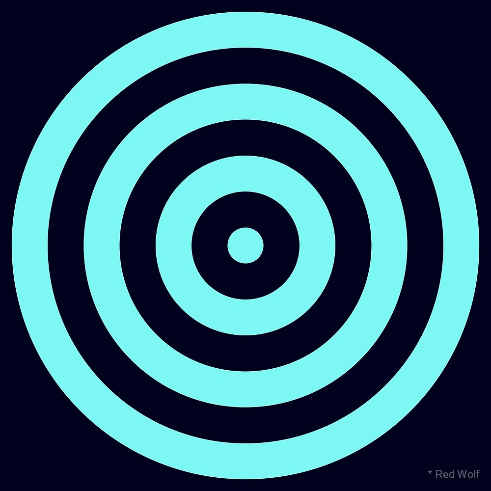 Geometric Pattern: Rondel: Bioluminescence by * Red Wolf