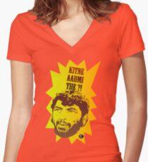 Salt of Gabbar Women's Fitted V-Neck T-Shirt