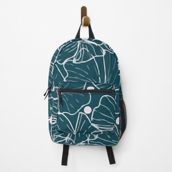 Modern vector tropical seamless pattern with openwork colors Backpack