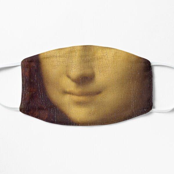 Leonardo Da Vinci, Mona Lisa T Shirt, Gioconda Reproduction Sketch Artwork For Posters, Prints, Tshirts, Men, Women, Kids Flat Mask