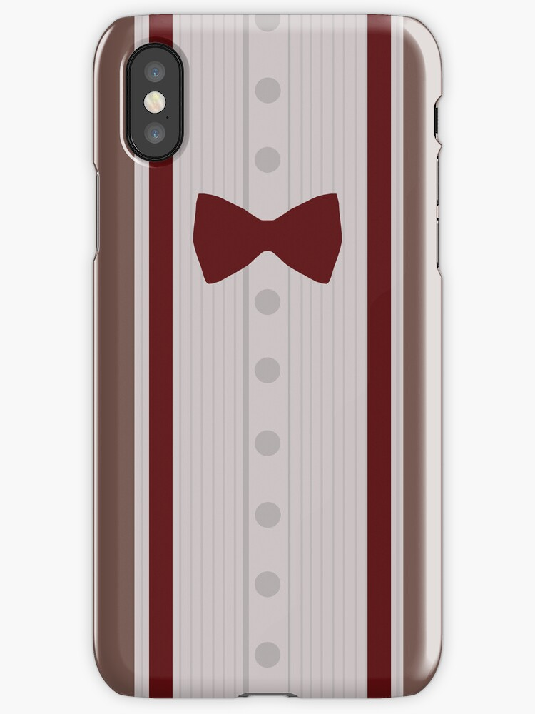 11th Doctor Costume iPhone/iPad Case by voidstuff