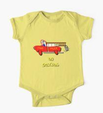 Fire Truck - No Smoking, T-shirt Kids Clothes