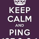 Keep Calm Geeks: Ping Localhost by Ozh !