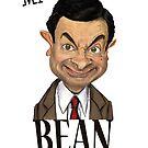 Mr Bean by Wayne Dowsent