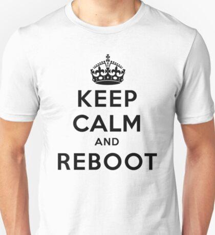 Keep Calm Geeks: Reboot T-Shirt