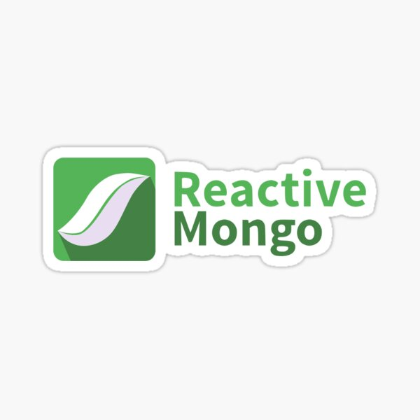 ReactiveMongo Sticker